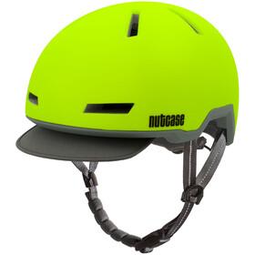 Nutcase Tracer casco per bici giallo